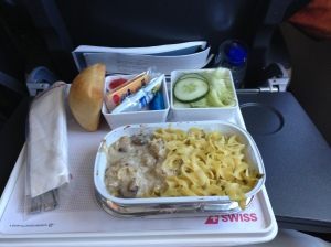 Airplane Dinner, not too shabby.